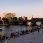 Berlin: Kanzleramt und Sportler