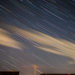 Sternspuren über Altglienicke