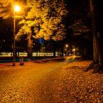 Altstadt Köpenick: Langzeitbelichtung im Park