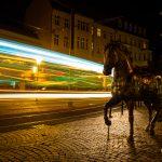 Altstadt Köpenick: Laser-Pferd?