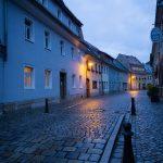 Bad Schandau: Blaue Stunde 2