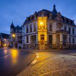 Bad Schandau: Blaue Stunde
