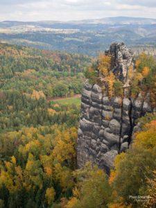 Schrammsteine: Felswand