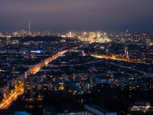 Berliner Funkturm: Viele Wege führen zum Potsdamer Platz.