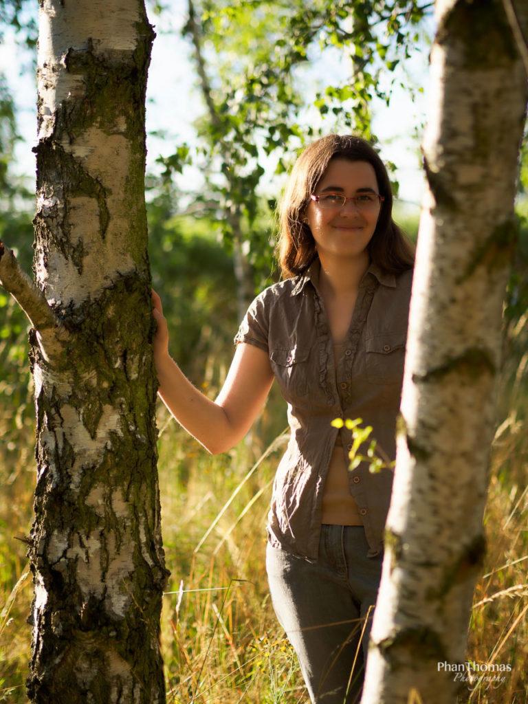 Portrait im Birkenwäldchen 2