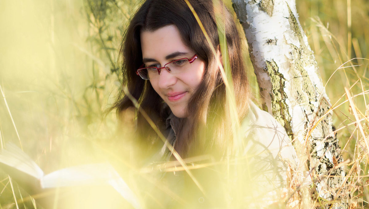 Portrait mit Vordergrund 3